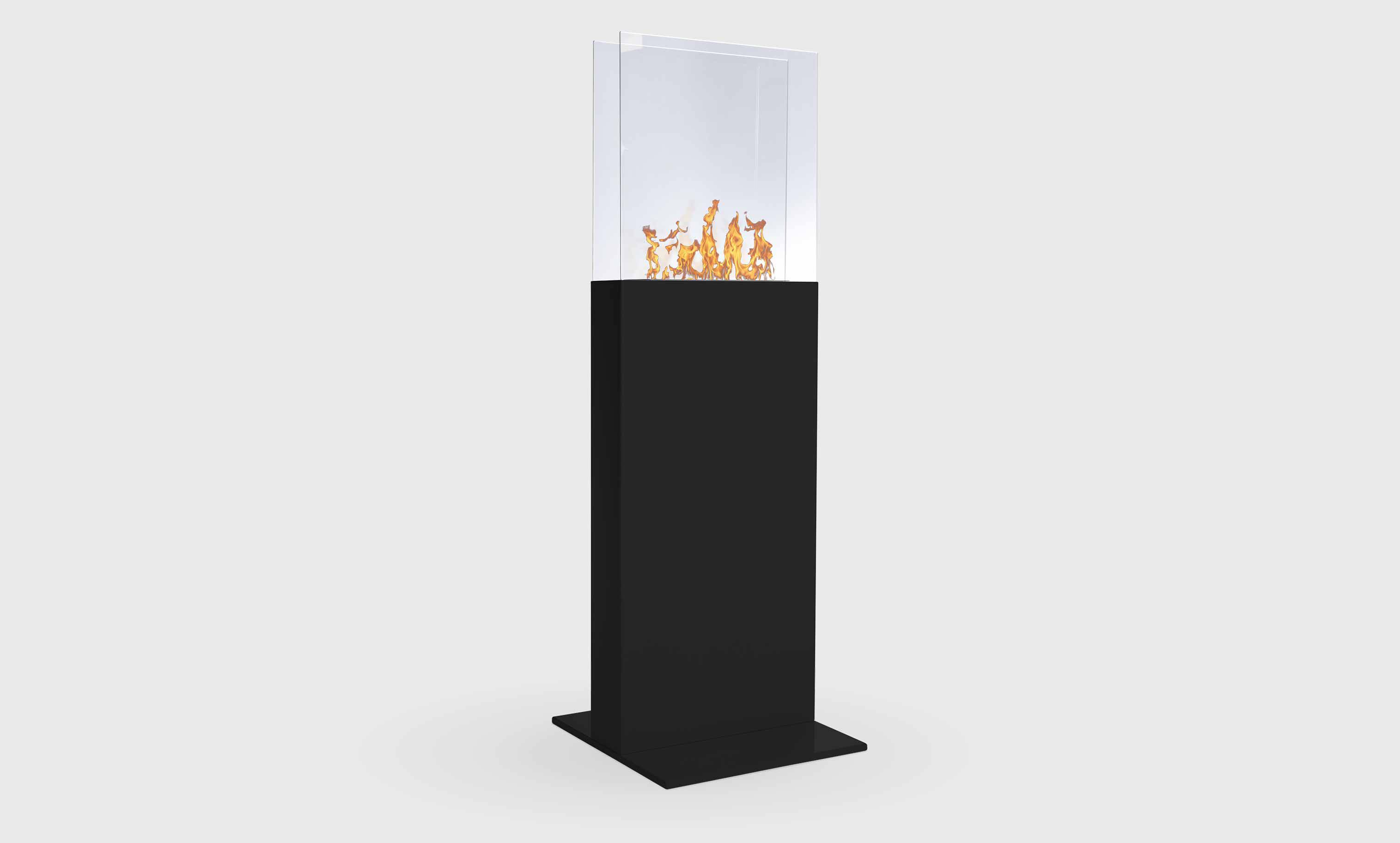 cheminee ethanol sur pied. Black Bedroom Furniture Sets. Home Design Ideas