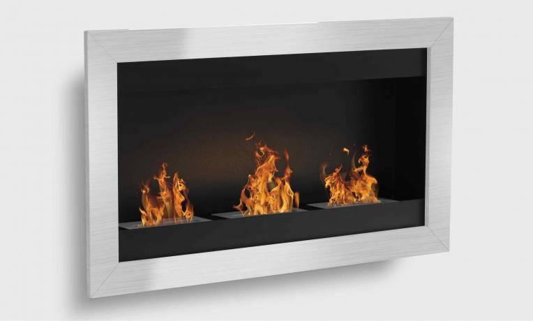 Sevenfire 3 bruleurs, cheminee bio