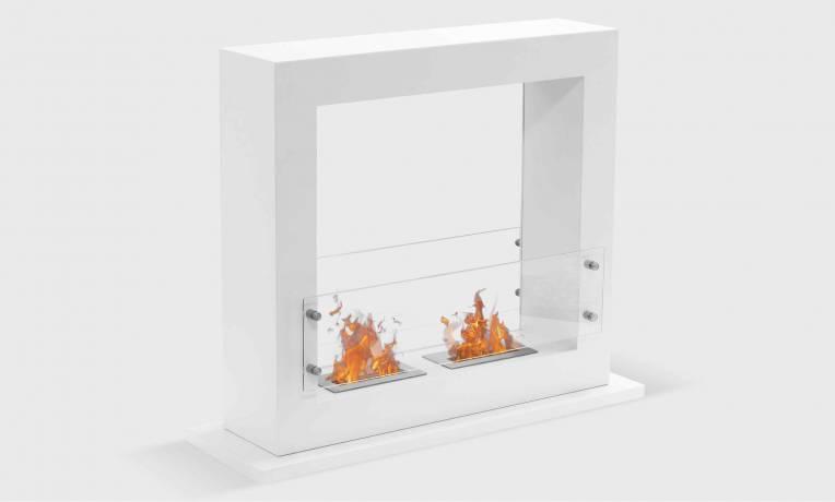 Foyer Grand Format : Foyer à poser bioéthanol grand format zenith xl