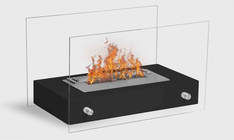 Novita est excellente si on cherche une cheminée éthanol de petite dimension, mais capable aussi de chauffer. Prix défiant toute concurrence !
