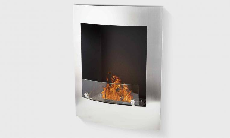 chemin e bio thanol verticale fa ade inox paris. Black Bedroom Furniture Sets. Home Design Ideas