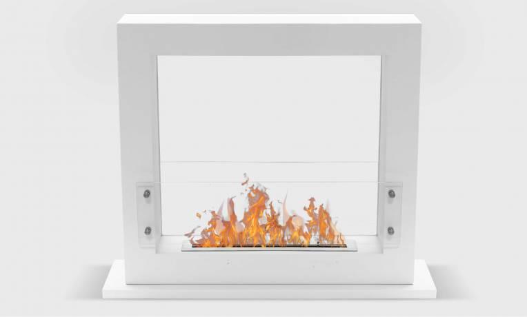 cheminée éthanol à poser grand brûleur