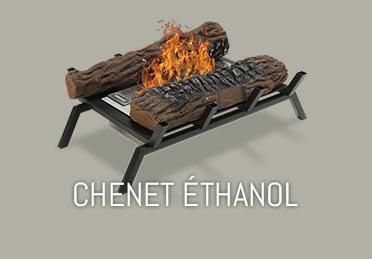 cheminee ethanol bois