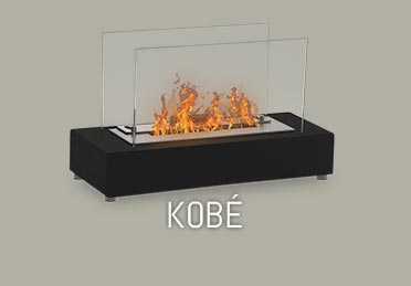 micro foyer de table ethanol Kobe