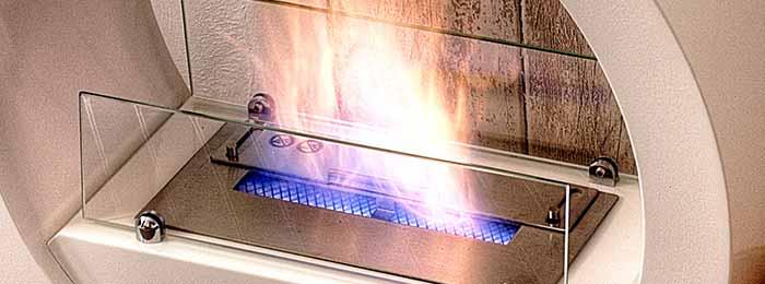 flamme de cheminee ethanol